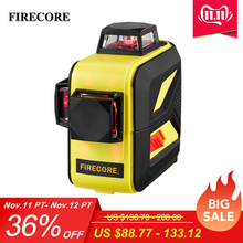 FIRECORE Use-Receiver Cross-Lines Self-Leveling Horizontal Laser-Level-Lr6/lithium-Battery