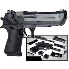 Desert Eagle Toy-Gun Model Puzzle-Block Weapon Assembly-Pistol Safety Plastic Outdoor-Toy