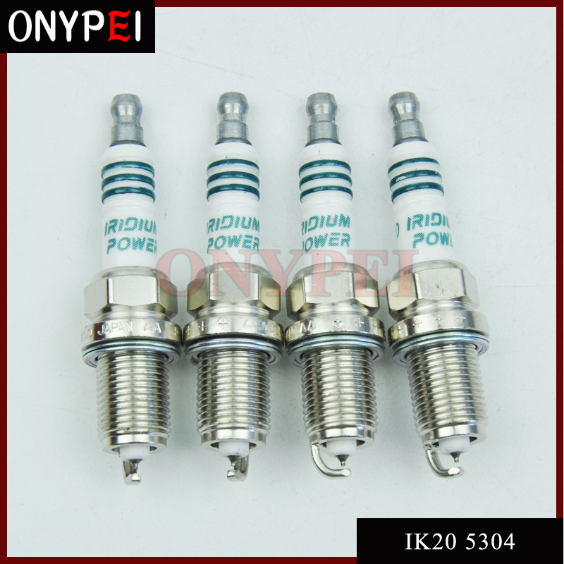 4x IK20 5304 Car Candle Iridium Power Spark Plug For Toyota Racing Tuned Turbo Honda Nissan IK20-5304 title=