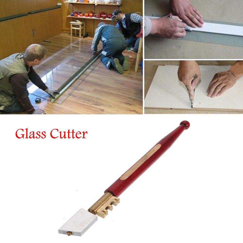 Professional Sharp Diamond Tip Glass Cutter Window Mirror Glazing Cutting Tool