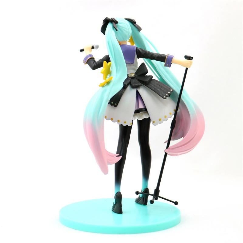 Hatsune Miku 10th Anniversary Edition PVC Miku Hatsune Figure Action Collectible Model Toy (1)