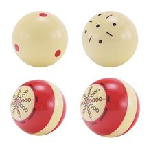 1pc Resin Billiard Practice Training Pool Cue Ball Snooker Training Balls Cueball