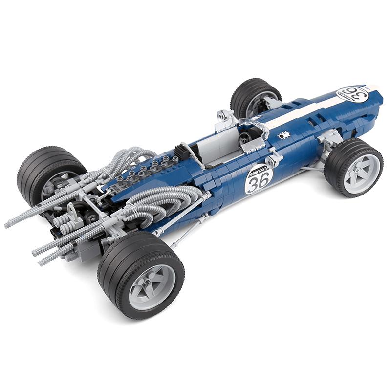 XINGBAO XB-03022 Formula 1 Racing Car Blue Sonic Building Block 25