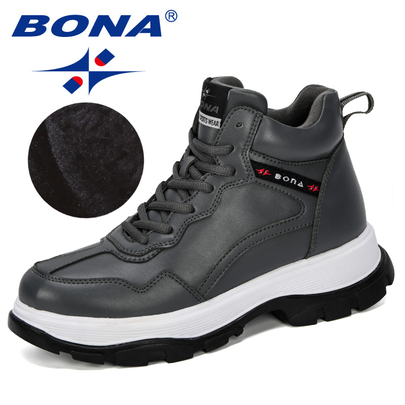 BONA New Fashion Style Women Snow Boots Women Plush Hot Platform Boots Winter Female Warm Botas Mujer Booties Feminimo