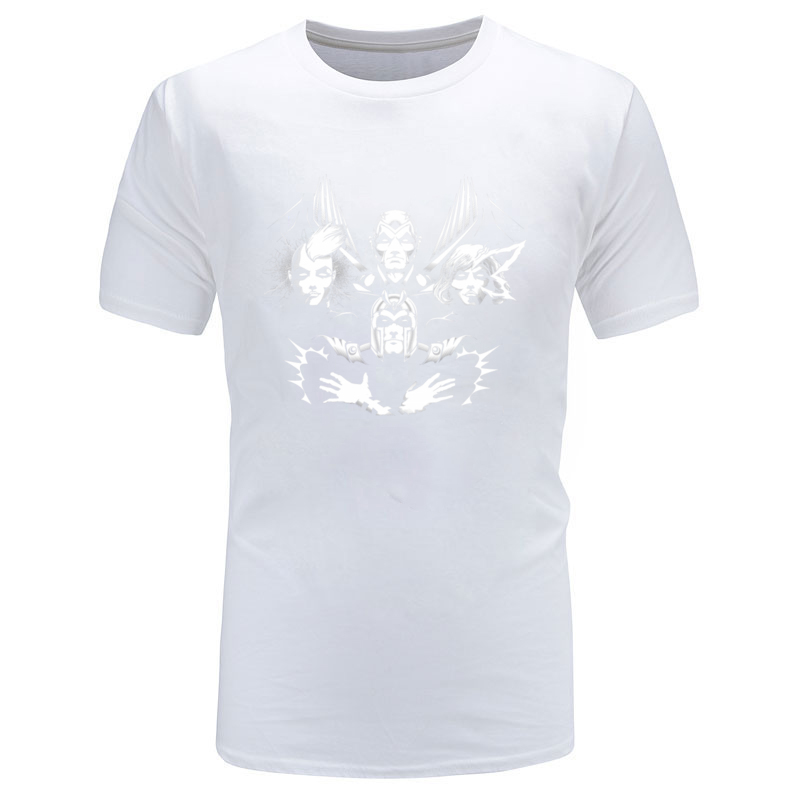 THE_FOUR_HORSEMEN_9022 100% Cotton Tops Tees for Men Hip hop T Shirts Casual New Coming Crew Neck T Shirts Short Sleeve THE_FOUR_HORSEMEN_9022 white