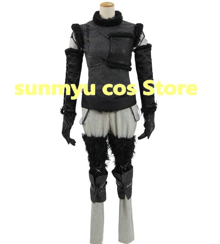 NieR:Automata Twins Devola Cosplay Costume Boots Dress Custom Made Halloween