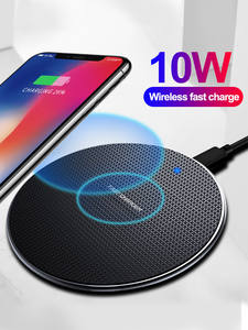 Olaf 10W Fast Wireless Charger For Samsung Galaxy S10 S9/S9+ S8 Note 10 USB Qi Charging