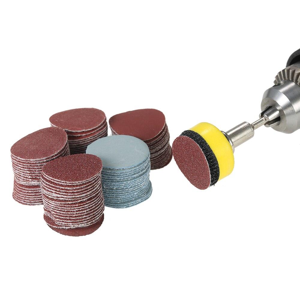 3/'/' 75mm Hook And Loop Sanding Disc Abrasive Sandpaper Discs Pad 100-2000 Grit