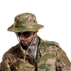 Шляпа мужская камуфляжная тактическая летняя, мультикам