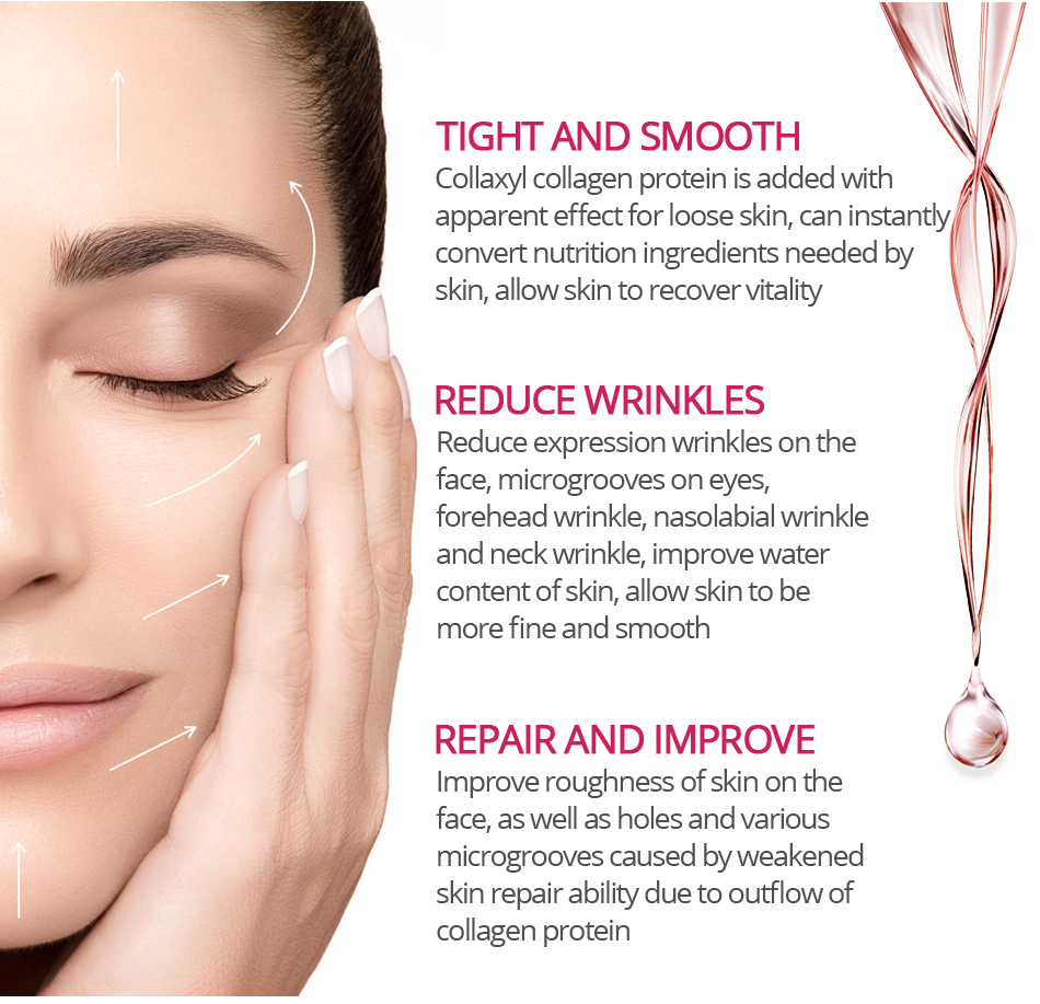 YTGOOD The First Treatment Essence Intensive,Argireline Collagen Peptides Face Serum Anti-Aging Wrinkle Lift Firming