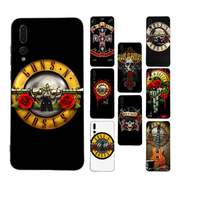 Чехол для телефона Babaite Guns n Roses Painted для Huawei Mate 30 Pro P20 P30 P40 pro lite Y7 Y6 2019 для Honor 8X 8A 10 20lite 10i(Китай)