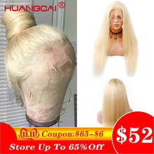 Wig Lace-Wigs Blonde Glueless Remy Pre-Plucked Straight Brazilian -613 13--4