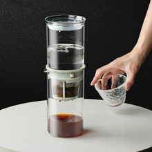 HARIO 600ml Cold Brew Drip Coffee Maker Glass Reusable Ice Cold Brew Coffee Machine Household Small Ice Drip Coffee