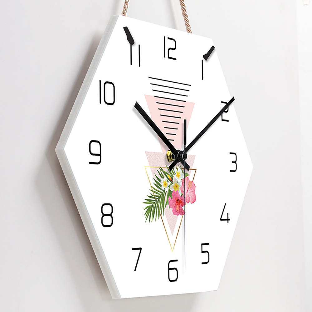Nordic Silent Wall Clock Large Hanging Clocks Wall Watch Home Simple Modern Living Room Luxury Brief creative Home Decor Clocks title=