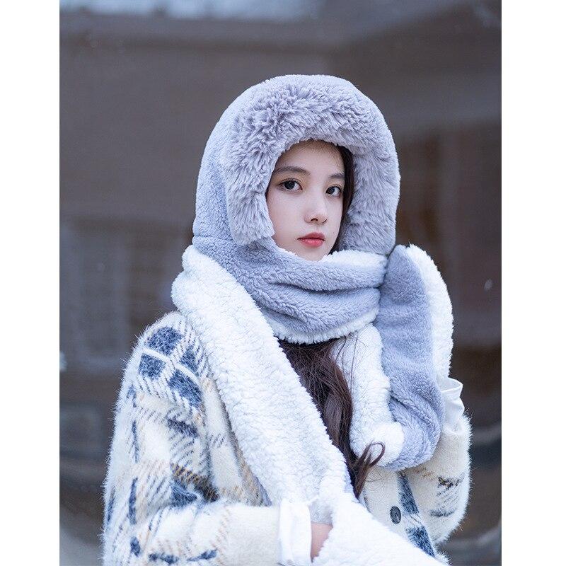 ANSUG Bufanda de punto unisex Bufanda gruesa de abrigo de invierno para el cuello y la piel de invierno Bufanda para hombre y mujer