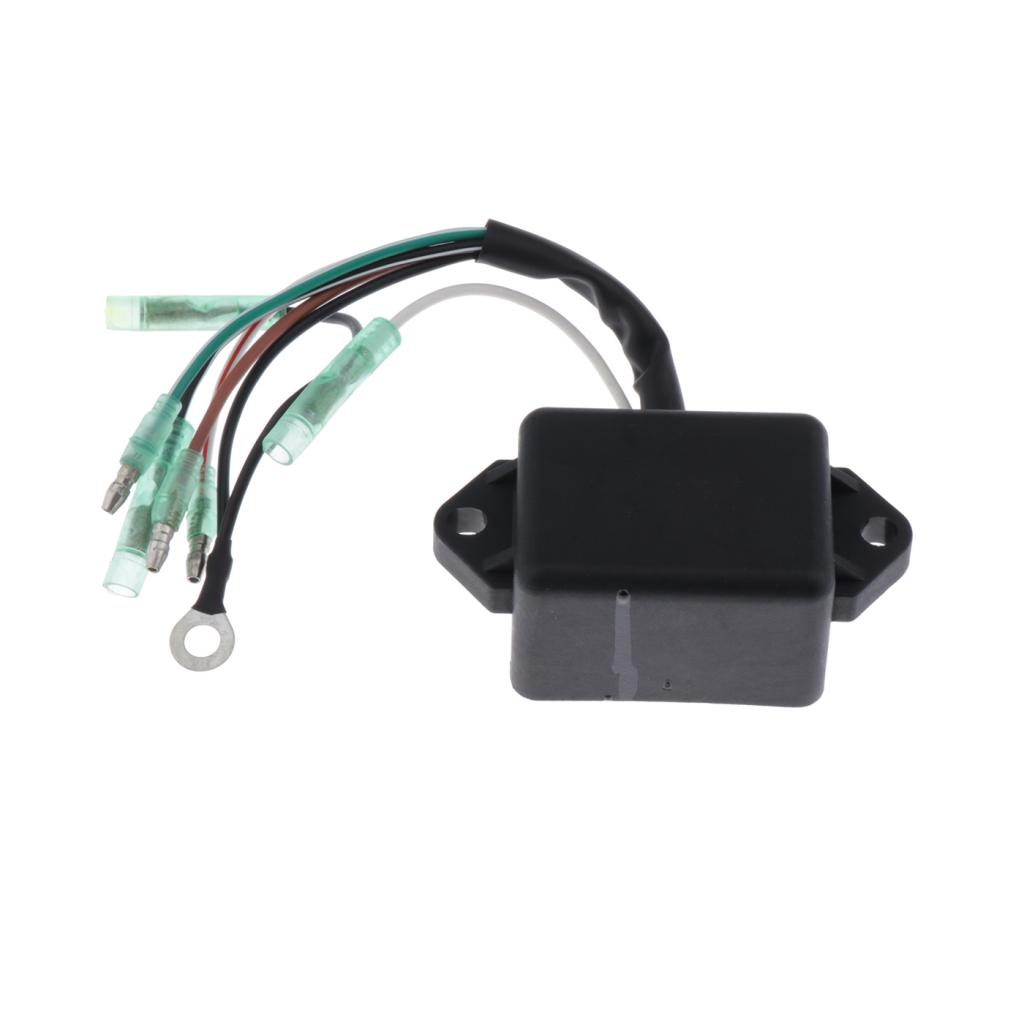 MagiDeal Boat Control CDI Unit for Yamaha 4-5HP Outboard Engine 6E0-85540-71