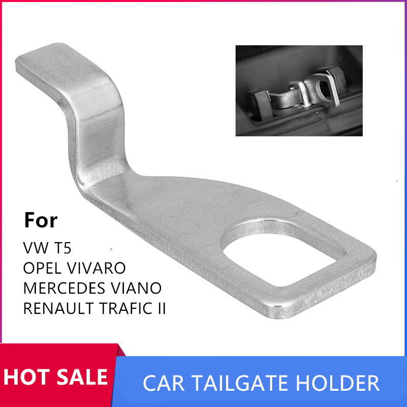 Rear Tailgate Air Vent Holder Lock Stainless Steel Ventilation Extend Stand Car