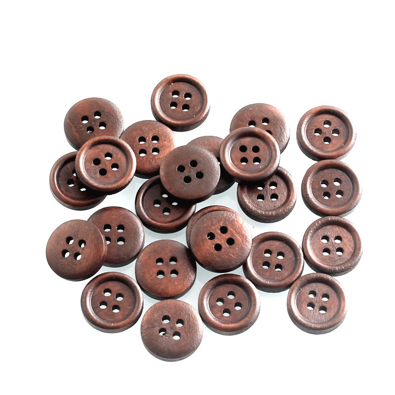 10PCs Mixed Acrylic Buttons Grid Heart 2-Hole Cardmaking Embellishments Craft