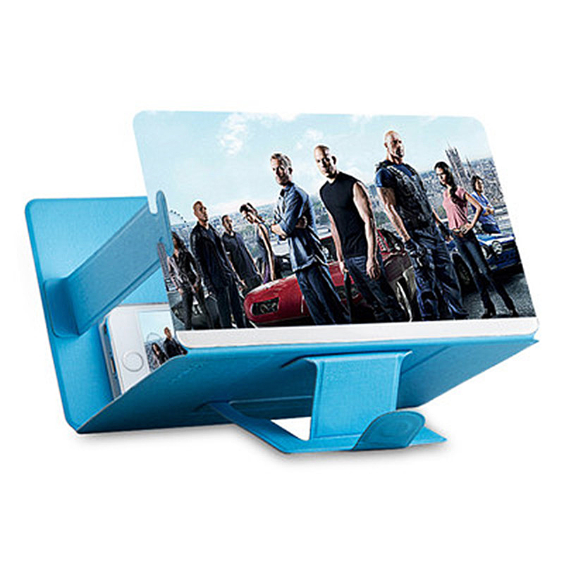 Stands Bracket Magnifier Tablet-Holder Amplifying Phone-Screen Desktop Foldable Stereoscopic title=