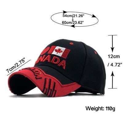 Gorras brand canada flag men fishing baseball cap of hat mens snapback bone adjustable wonmen