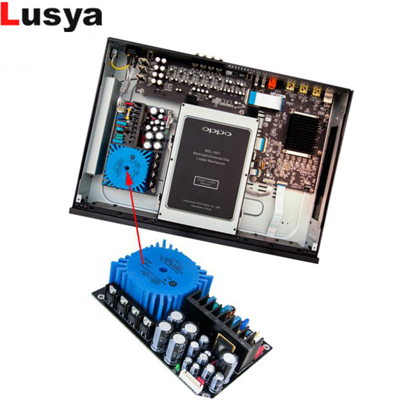 Upgrade linear power supply board Modification OPPO UDP-203//205 Blu-ray player