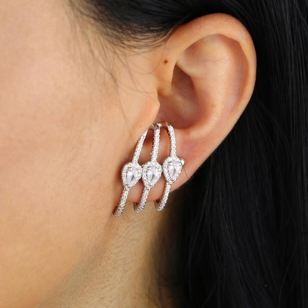 brass cz earring Y (10)