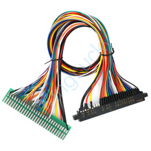 Connectors Game-Machine Jamma Harness Arcade Gold for 50mm Extension-Cable Finger 28pin