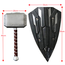 Thor-Hammer Foam Cosplay Custome Stage-Property Kids Gift PU 1:1-Scale-Toys 45CM