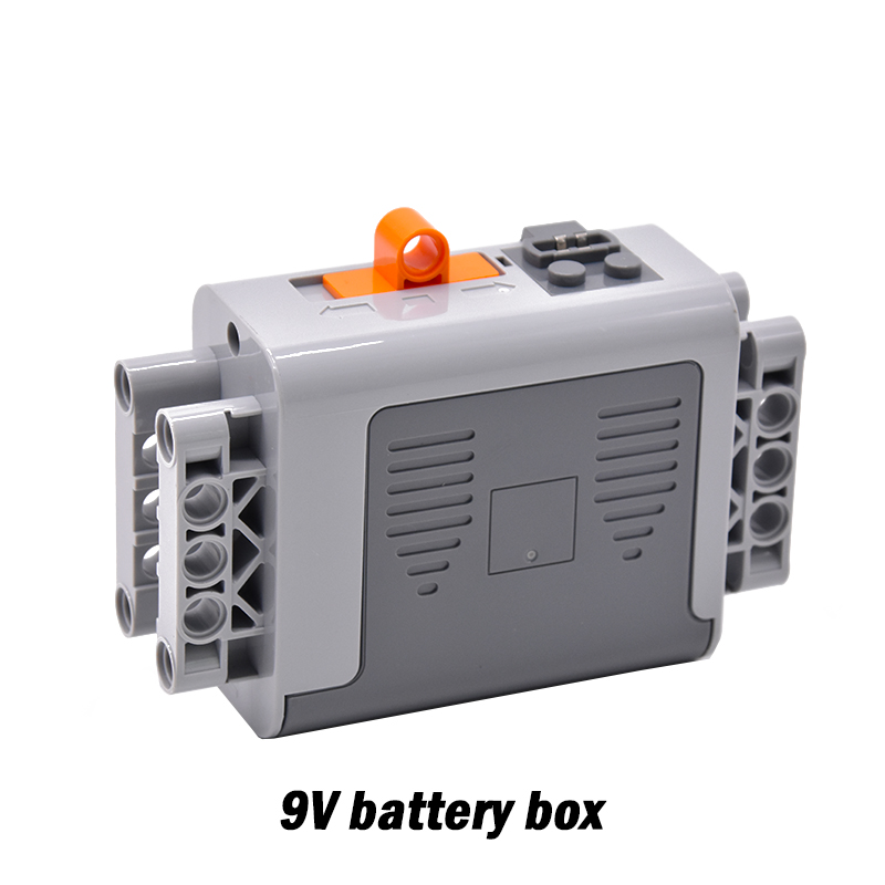 Power Functions M Motor Battery Box Remote Receiver SET Technic For NEW GIF