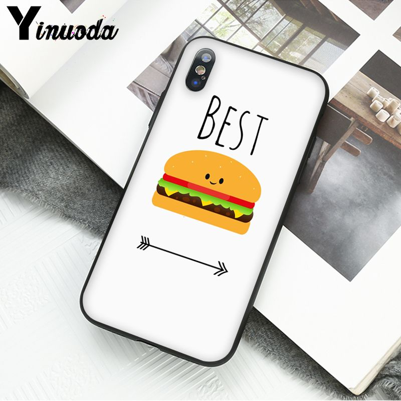 BFF Best Friends Burger and Fries Food