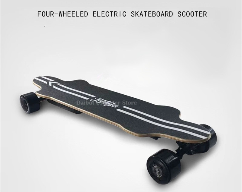 Electric Skateboard For Adult 4 Wheels Electric Scooters Double Drive 600W 36V 40KMH Longboard Electric Skateboard