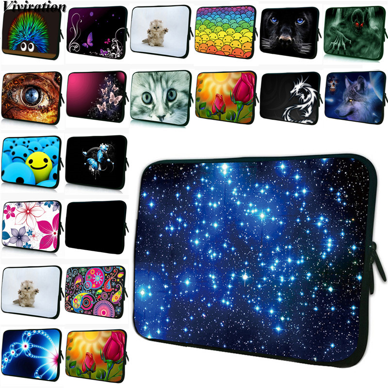 2020 Fashion Unisex 7.9 Inch Netbook Case For e-Book iPad Xiaomi Tablet Netbook PC 7.7/ 7 /8.0 Inch Prints Zipper Pouch Bag Case