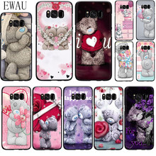 Силиконовый чехол Teddy Me To You Bear для Samsung S6 S7 Edge S8 S9 S10 plus S10e Note 8 9 10 M10 20 30 40(China)