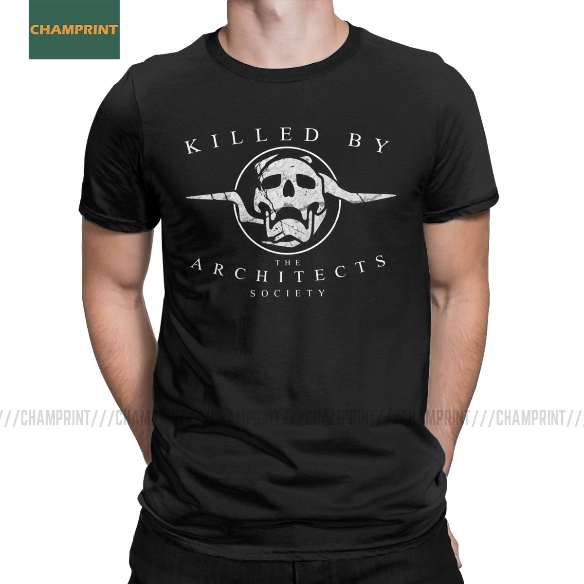 Killed By The Architects Society Destiny T-Shirt Men Cotton T Shirt Ace Spades Cayde 6 Game Short Sleeve Tee Shirt Gift Idea Top