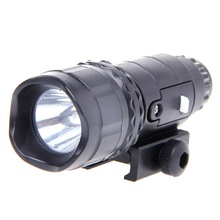 Tactical LED Brightness White Light Flashlight For Nerf Accessory Kids Toy