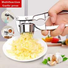 Mincer-Tools Press-Crusher Masher Ginger-Squeezer Garlic Vegetables Kitchen Stainless-Steel