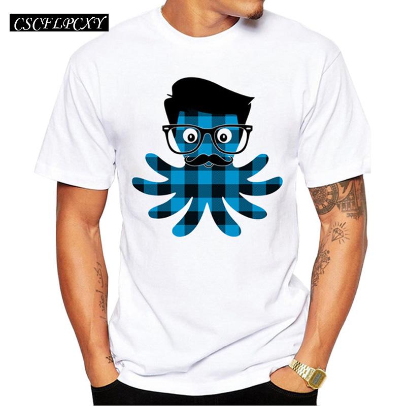 2017-Men-s-Hipster-Plaid-Octopus-Printed-T-Shirt-Short-Sleeve-Casual-Tops-Funny-Men-T.jpg_640x640