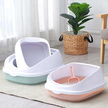 Bedpan Sand-Box-Supplies Scoop Dog-Tray Cats-Litter-Box Pet-Toilet Kitten Plastic Home