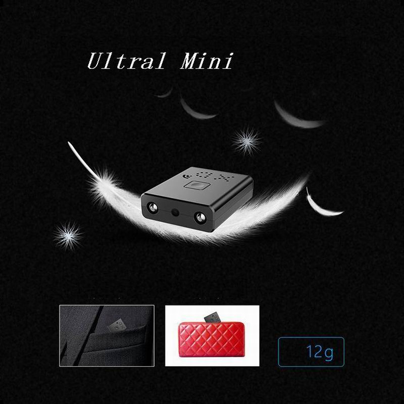 Volemer XD Wifi Mini Camera HD 1080P Home Security IR Night Vision Wireless Video Camera Motion Detection Portable Micro Camera (9)