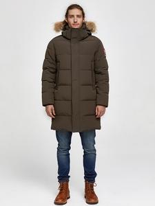 Куртка TIGER FORCE Alaska Мужская, зимняя парка со съемным капюшоном из искусственного меха
