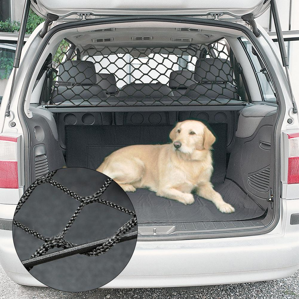 Universal Head Rest Mounted Deluxe Pet Dog Guard Adjustable Safety Barrier Car