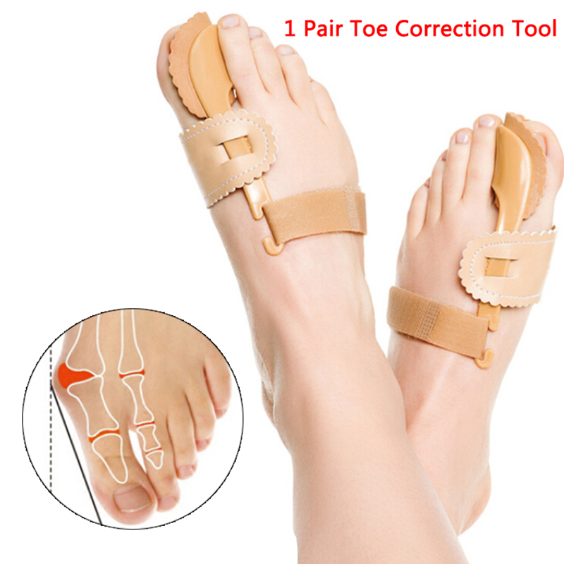 Hallux Valgus Toe Correction Pedicure Foot Pain Relief Bunion Corrector Device Hallux Valgus Supplies Pedicure Foot Care