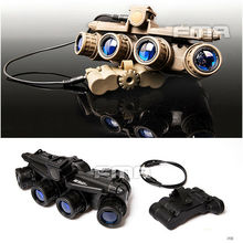 FMA Hunting Tactical Airsoft GPNVG 18 NVG Model Night Vision Goggle NVG DUMMY TB723