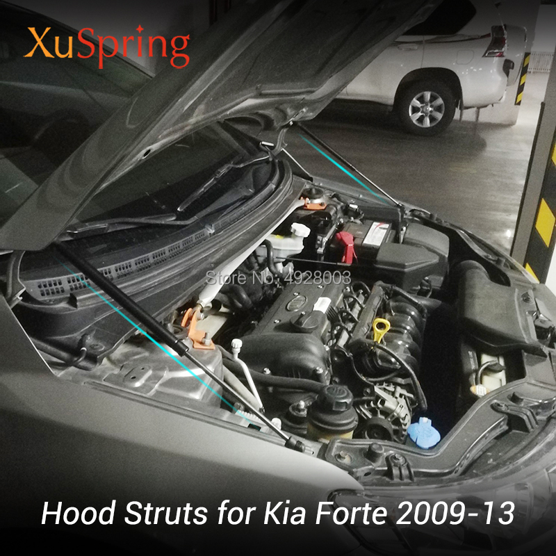 1Set Hood Gas Charged Lift Support Struts For 07 08 09 10 11 12 13 Acura MDX