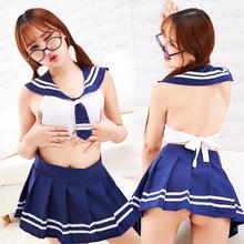 Sexy Lingerie Underwear Uniform Maid Student-Costume Role-Playing Erotic Babydoll