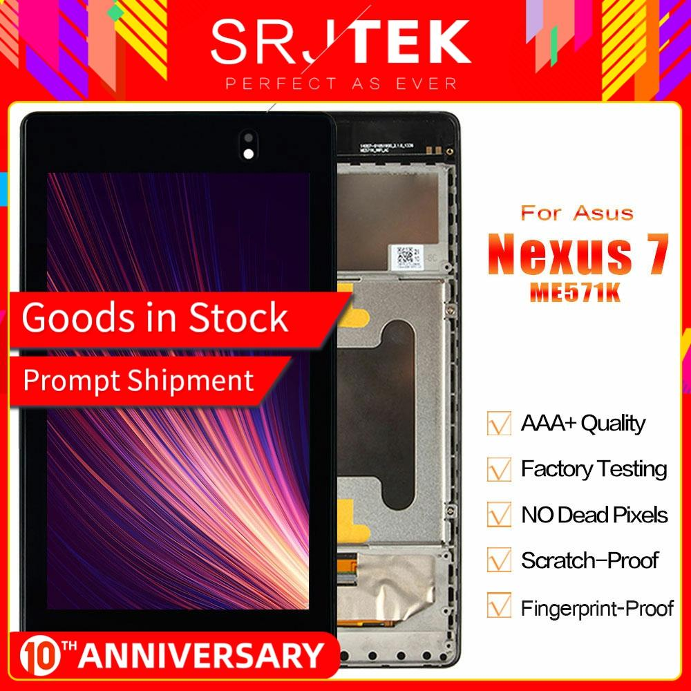 Front Faceplate Frame Housing Bezel For Asus Google Nexus 7 3G 1st ME370TG cd US