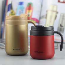 Coffee Mug Tumbler Mixing-Spoon Water-Cups Stainless-Steel Insulated with 330ml New Vacuum
