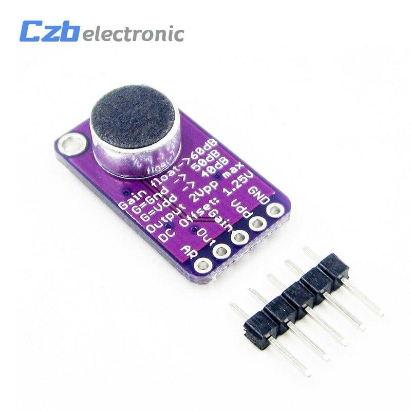1PCS MAX9814ETD+T MAX9814 Microphone Amplifier QFN14