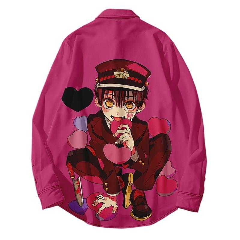 Toilet Bound Hanako kun Casual Shirts Cosplay Nene Yashiro Yugi Amane Blouse CAMICIA Anime Shellort
