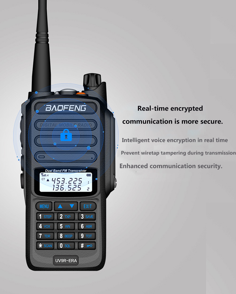 2019 BaoFeng UV-S9 Powerful Walkie Talkie CB Radio Transceiver 8W 10km Long Range Portable Radio for hunt forest city (17)